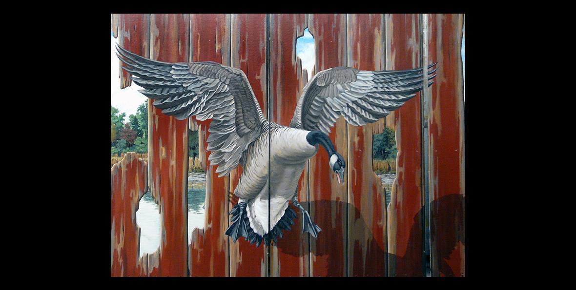 Goose detail